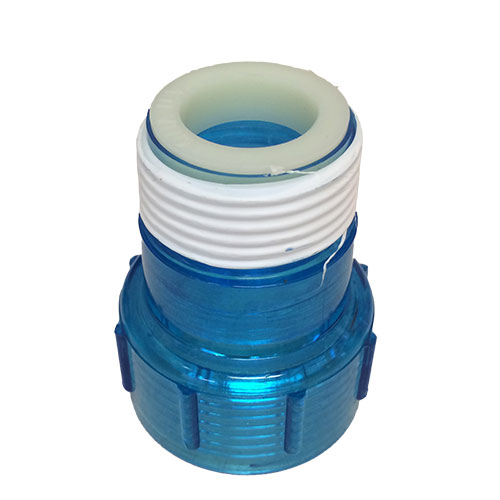 Aqua Ultraviolet Quartz Cap w/ Ring, Clear Blue - Classic series