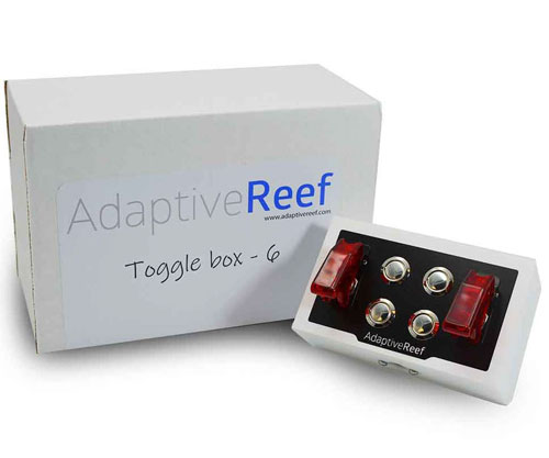 Adaptive Reef 6 Way Apex Switch Toggle Box