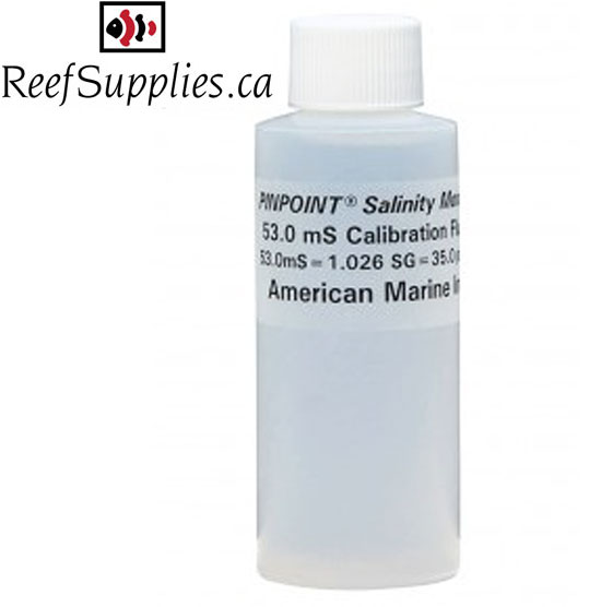 American Marine Pinpoint Salinity Calibration Fluid, 53.0mS/1.026SG