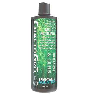 Brightwell Aquatics ChaetoGro Algae Refugium Fertilizer - 500ML