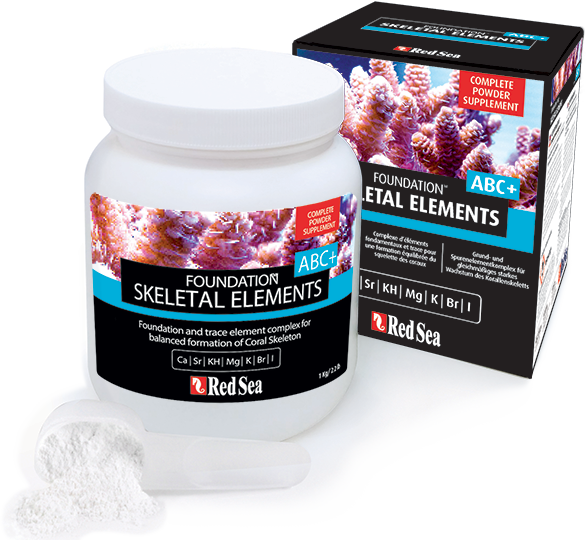 Red Sea SKELETAL ELEMENTS FOUNDATION ABC+s - Ca, Alk, Mg (1kg)