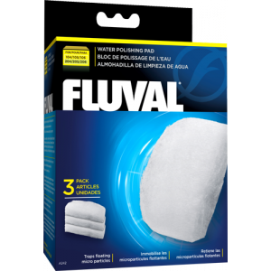 Fluval Polishing Pads for Fluval 105/106 and 205/206 Filters (3 pack)