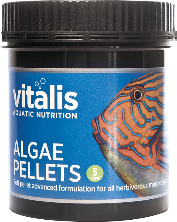 Vitalis Aquatic Nutrition Algae Pellets - 120G