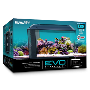 Fluval SEA EVO Saltwater Aquarium Kit - 13.5 gal