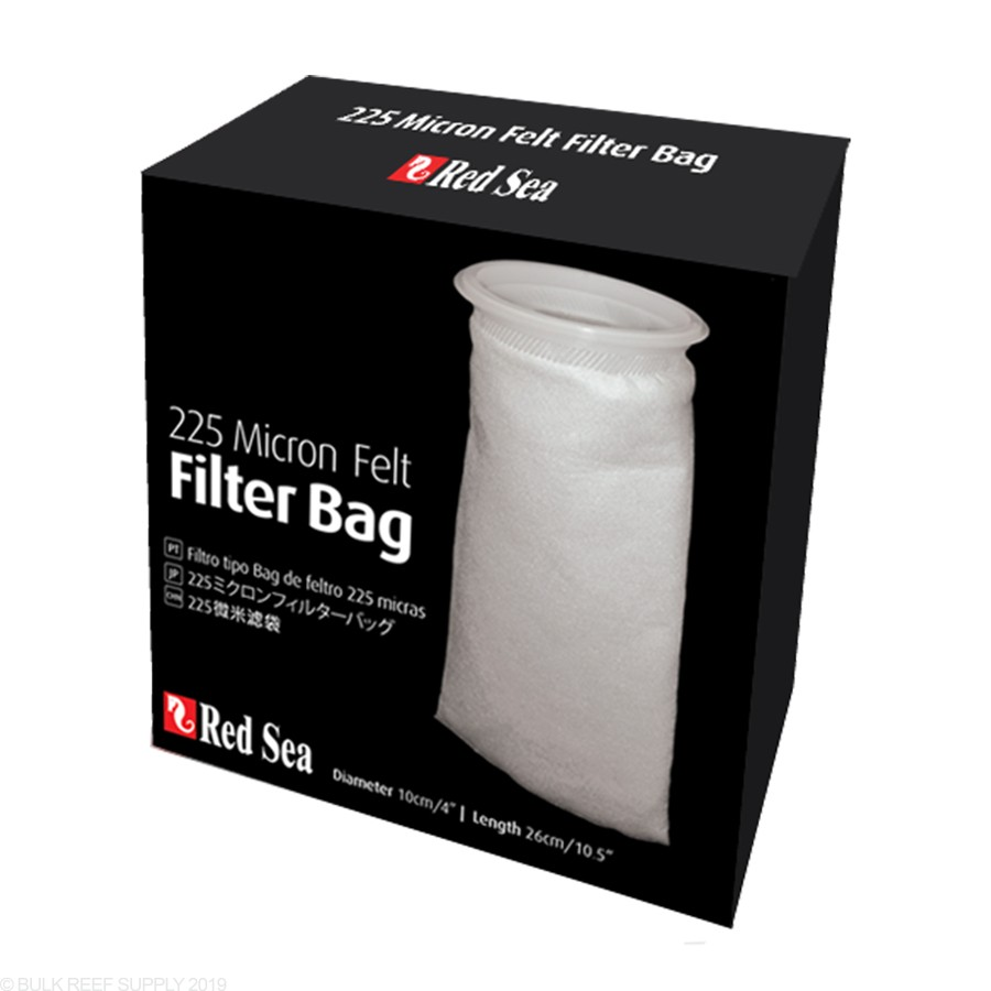 "Red Sea 4"" Filter Sock - 225 Micron Felt Bag"