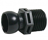 Loc-Line 1/2 inch Ball Socket x MPT Connector