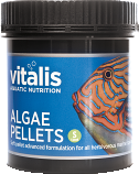 Vitalis Aquatic Nutrition Algae Pellets  XS - 120G