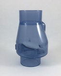 "Swing Check Flapper Valve 1-1/2"" Slip/Slip"